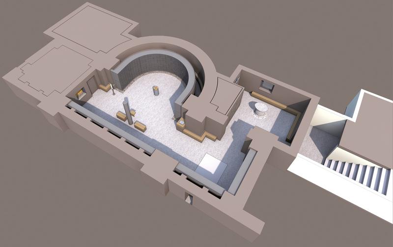 Lage und Gestaltung des Kolumbariums